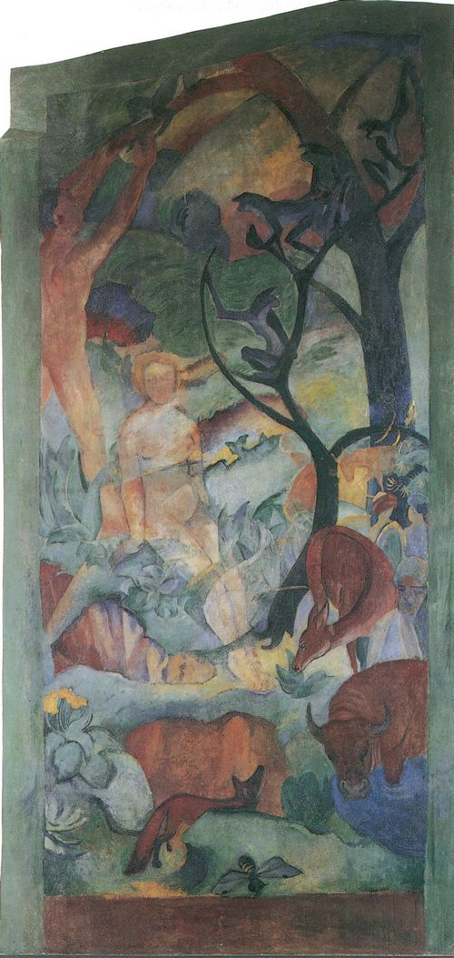 Paradies, August Macke and Franz Marc, 1912