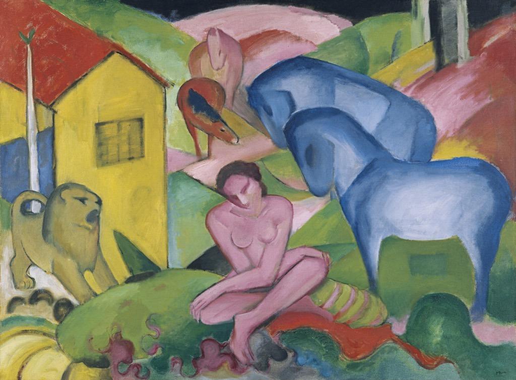 Franz Marc, Der Traum, 1912.