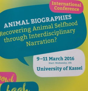 Animal Biographies: Recovering Animal Selfhood through Interdisciplinary Narration?