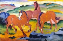 Weidende Pferde IV, 1911